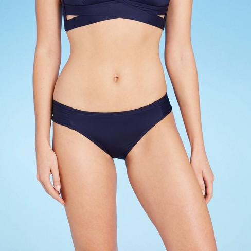 Women's Medium Coverage Tab Hipster Bikini Bottom - Kona Sol™ - image 1 of 4