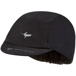 SealSkinz Waterproof All Weather Cycle Cap - Black, Large/X-Large