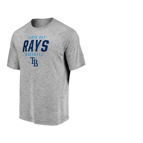 7fd46add46f Tampa Bay Rays Men s Mad Dash Gray Athleisure T-Shirt - XXL   Target