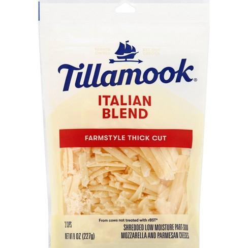 Tillamook Italian Blend Shredded Cheese - 8oz - image 1 of 4