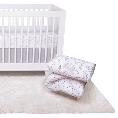 Trend Lab Crib Bedding Set - Simply Forest - 4pc