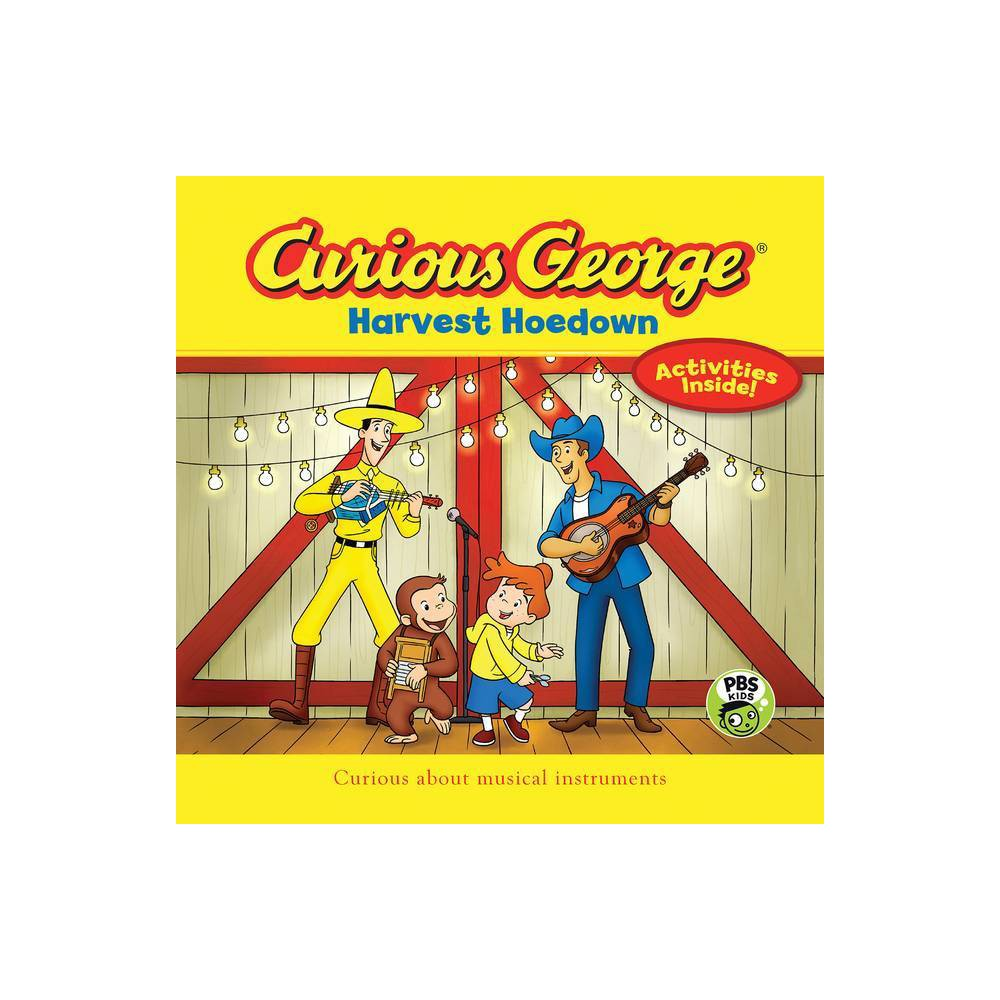 Curious George Harvest Hoedown Cgtv 8 X 8 By H A Rey Paperback