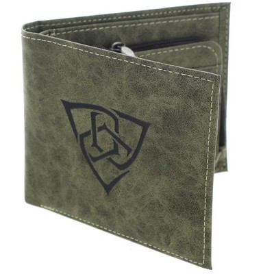 Huge Crate Gears of War 4 Embossed Outsiders Logo Bi-Fold Wallet