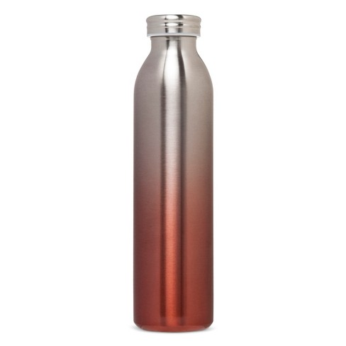 20oz Stainless Steel Insulated Retro Water Bottle - Coral Metallic Ombre - image 1 of 1