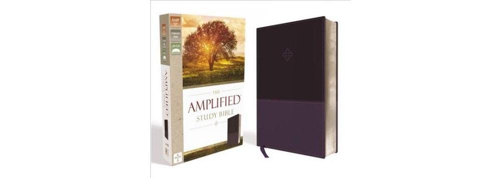Amplified Study Bible : Amplified, Purple, Leathersoft (L...