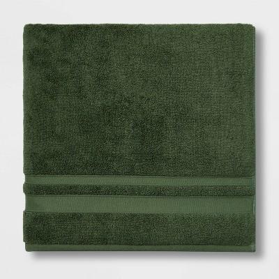Performance Bath Sheet Dark Green - Threshold™
