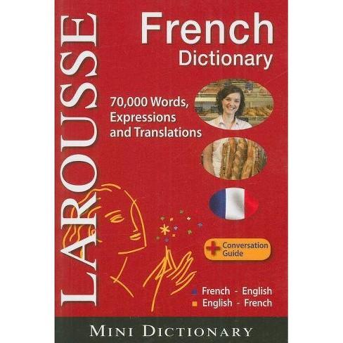 Larousse Mini Dictionary: French-English / English-French - (Paperback) - image 1 of 1