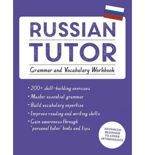 Teach Yourself Russian Tutor : Grammar and Vocabulary Workbook - by Michael Ransome & Marta Tomaszewski - image 1 of 1