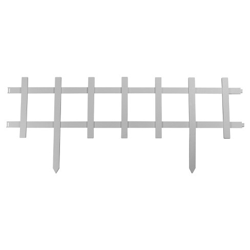 "13"" Cape Cod Style Decorative Fencing , 18 Pc - White - Emsco - image 1 of 4"