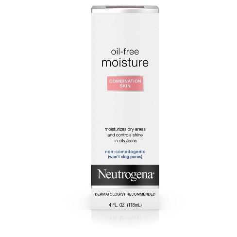 Neutrogena Oil Free Face & Neck Moisturizer for Combination Skin - 4 fl oz