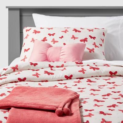 Butterfly Value Bedding Set Gingham Rose - Pillowfort™