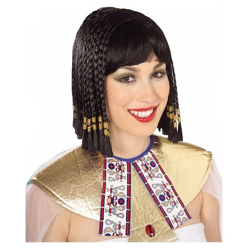 Halloween Queen of the Nile Costume Wig Black - image 1 of 1