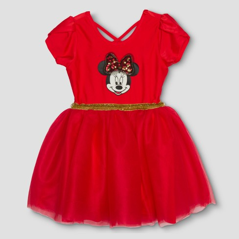 Toddler Girls' Mickey Mouse & Friends Minnie Mouse Tutu Dress - Pink - image 1 of 2