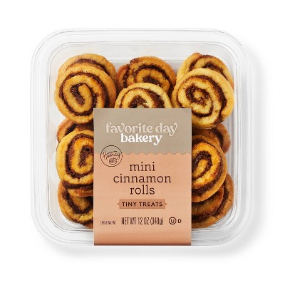Mini Cinnamon Rolls - 12oz - Favorite Day™
