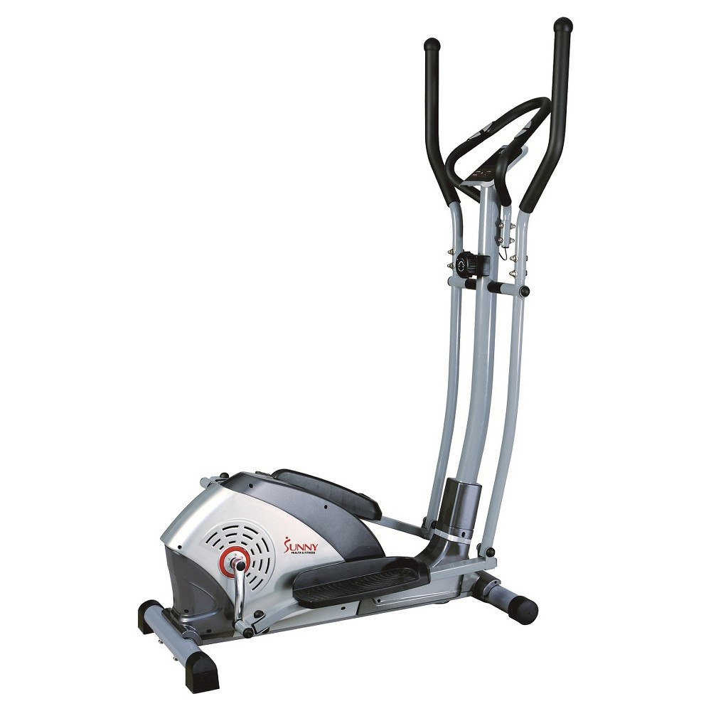 Sunny Health and Fitness (SF-E1114) Magnetic Elliptical Trainer - Silver