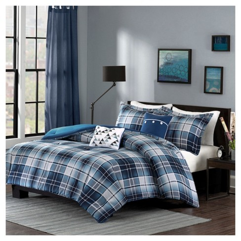 Dane Plaid Comforter Set - image 1 of 6