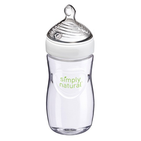 NUK Simply Natural Baby Bottle - 9oz - image 1 of 4