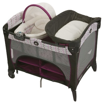 Graco® Pack n' Play Playard Newborn Napper DLX - Nyssa