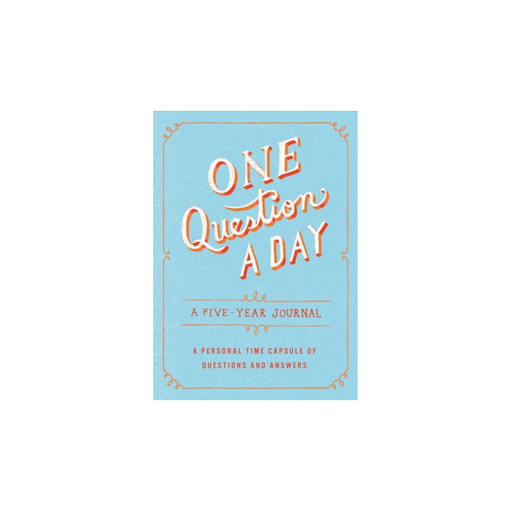 One Question a Day : A Five-year Journal (Paperback) (Aimee Chase)