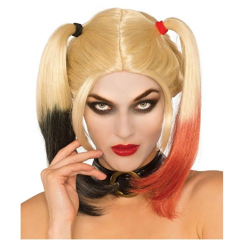 Women's DC Comics Harley Quinn Washable Wig - image 1 of 1