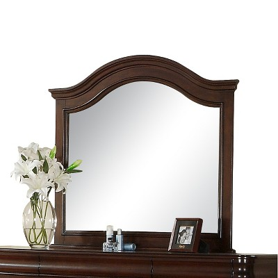 Jackson Mirror Dark Cherry - Picket House Furnishings