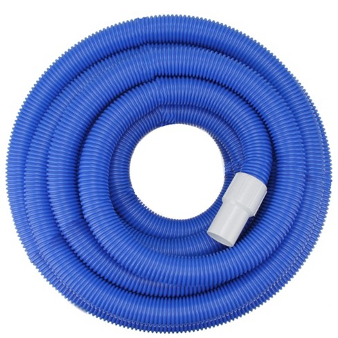 "Pool Central Blow-Molded PE In-Ground Swimming Pool Vacuum Hose with Swivel Cuff 100' x 1.5"" - Blue - image 1 of 3"