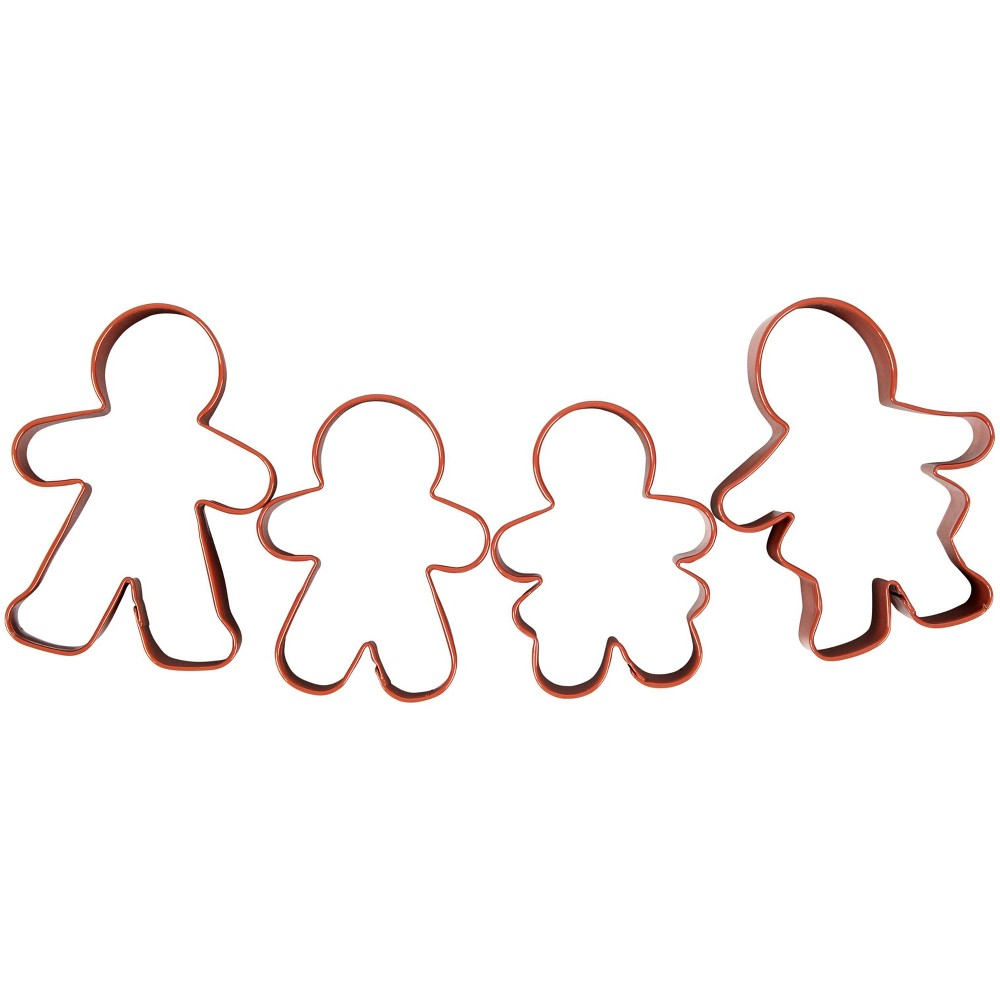 Image of Wilton Gingerbread Cookie Cutter Set, Red