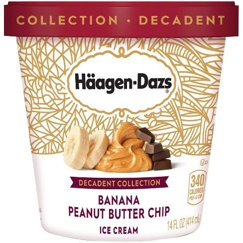 Haagen-Dazs Banana Peanut Butter Chip Ice Cream - 14oz - image 1 of 1
