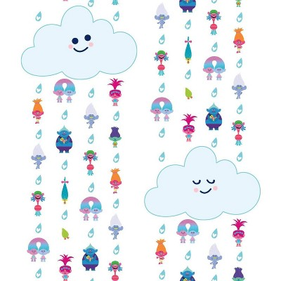 Trolls Clouds Peel and Stick Wallpaper - Roomates