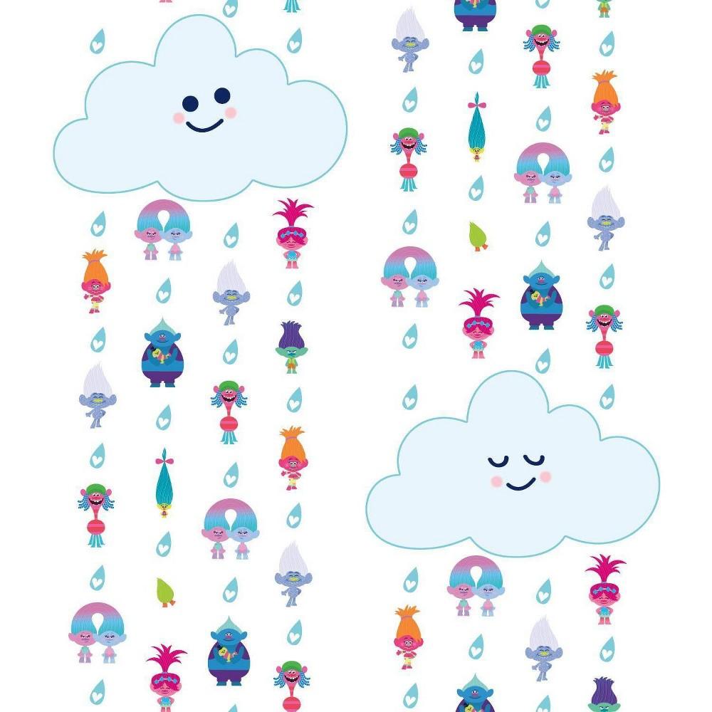 Image of Rommates Trolls Clouds Peel & Stick Wallpaper
