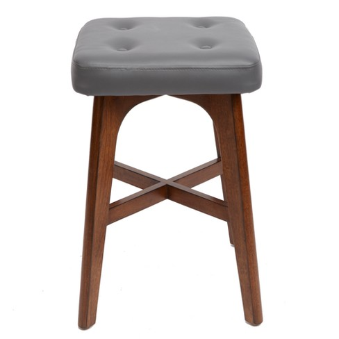 Fabulous Silverwood 24 Beacon Modern Wood Barstool With Square Cushion Brown Camellatalisay Diy Chair Ideas Camellatalisaycom