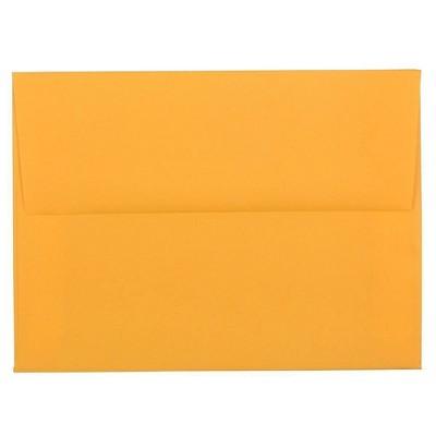 JAM Paper 50pk A6 Colored Invitation Envelopes - 4 3/4 x 6 1/2 - Ultra Orange