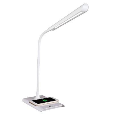 LED Power Up Desk Lamp Wireless Charging (Includes LED Light Bulb) White - OttLite