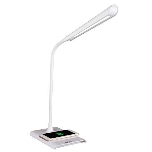 Led Power Up Desk Lamp Wireless Charging White Ottlite Target