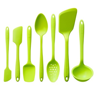 GIR Ultimate Silicone Kitchen Tool 7pc Set Lime
