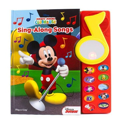 Disney Mickey Mouse Clubhouse - (Play-A-Song) (Board Book)