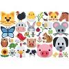 Eurographics Inc. Emoji Puzzle Farm Animals 100 Piece Jigsaw Puzzle - image 3 of 4