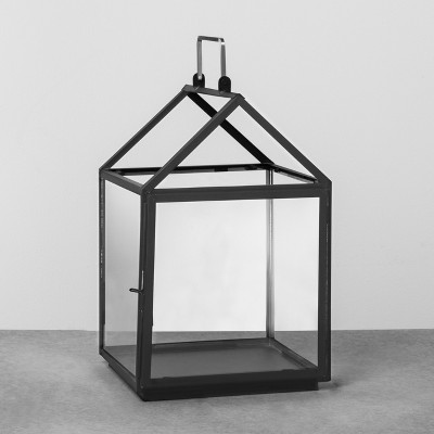 House Lantern Medium - Black - Hearth & Hand™ with Magnolia