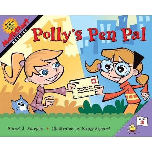 Polly's Pen Pal - (Mathstart 3) by  Stuart J Murphy (Paperback) - image 1 of 1