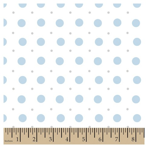 Jack Polka Dot Gray Cotton Fabric - image 1 of 1