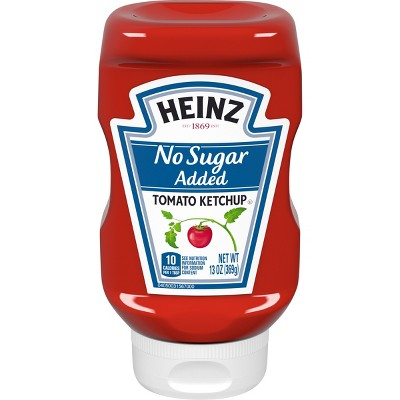 Ketchup: Heinz No Sugar Added