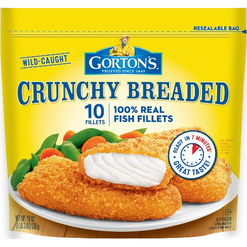 Gorton's Crunchy Breaded Fish Fillets 10 ct - image 1 of 1