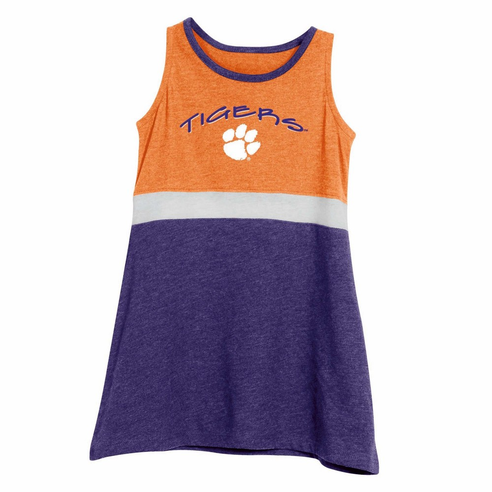 NCAA Toddler Dress Clemson Tigers - 2T, Toddler Girl's, Multicolored