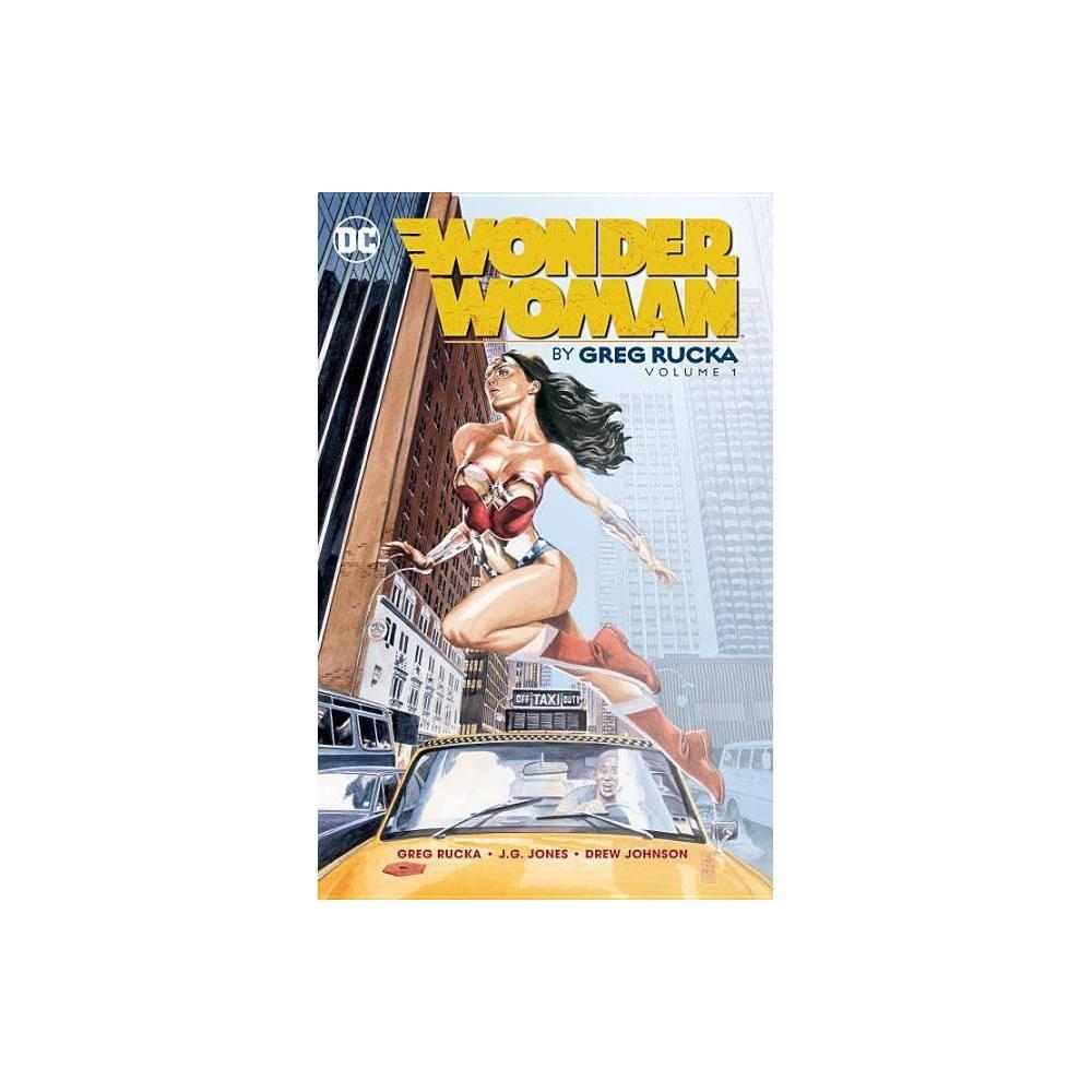 Wonder Woman Volume 1 By Greg Rucka Paperback