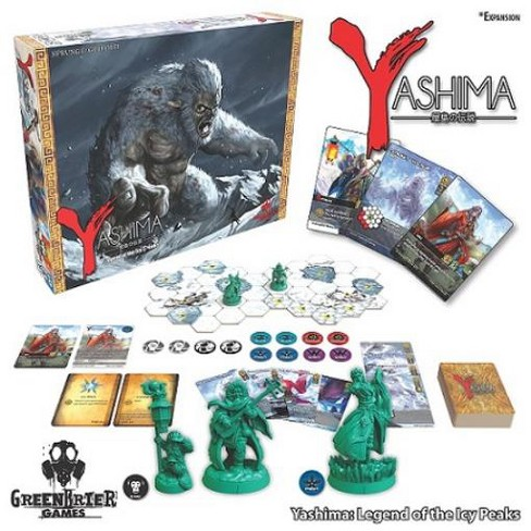 Yashima - Legend of the Icy Peaks Expansion Board Game - image 1 of 2
