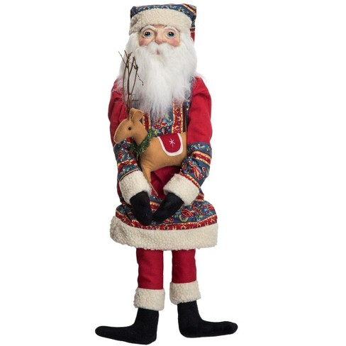 Gallerie II Bjorn Sami Santa Christmas Xmas Holiday Gathered Traditions Hand Painted Art Doll Collectable Figurine - image 1 of 4