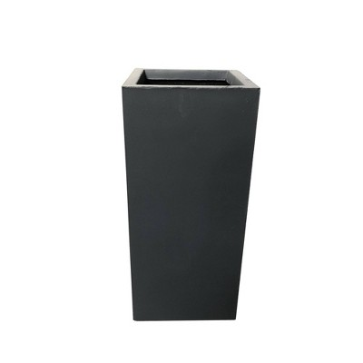 Kante Lightweight Concrete and Fiberglass Modern Rectangular Outdoor Planter - Rosemead Home & Garden, Inc
