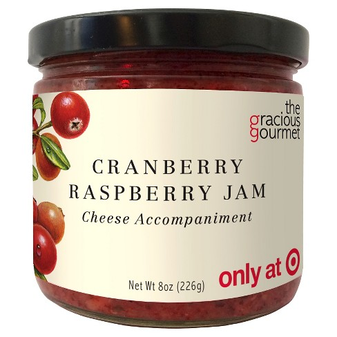 The Gracious Gourmet Cranberry Raspberry Jam Fruit Spreads - 8oz - image 1 of 1
