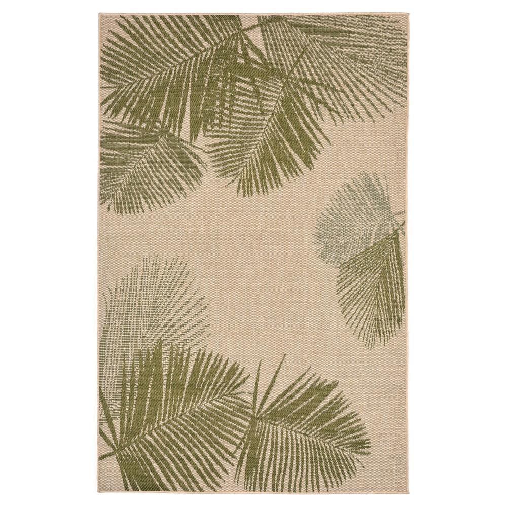 Terrace Indoor/Outdoor Palm Rug 7'10