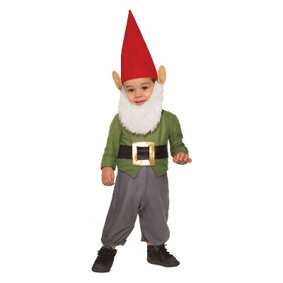 Toddler Girlsu0027 Garden Gnome Halloween Costume 2T, ...